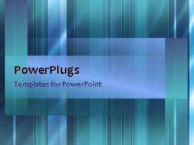 PowerPlugs: PowerPoint template with a bullet point with bluish background and place for text