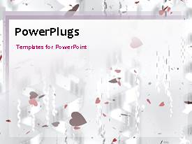 PowerPlugs: PowerPoint template with a bullet point with a purple background and place for text