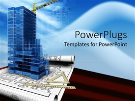 PowerPoint template displaying business Development