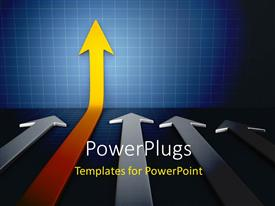 PowerPlugs: PowerPoint template with business growth concept using diagram chart