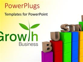 PowerPlugs: PowerPoint template with a red and white background with a number of bullet points