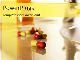 PowerPlugs: PowerPoint template with capsules for healthy life