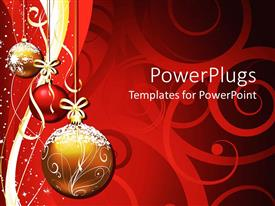 PowerPlugs: PowerPoint template with christmas Decoration