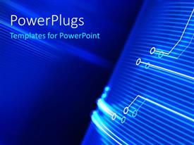 PowerPlugs: PowerPoint template with circuit lines with component positions indicated with dots