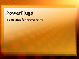 PowerPlugs: PowerPoint template with circular lights moving and merging