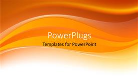PowerPoint template displaying a yellowish background with a place for text