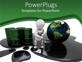 PowerPlugs: PowerPoint template with clean the World