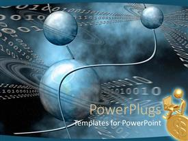 PowerPlugs: PowerPoint template with a collection of various Jupiter symbols along with binary numbers
