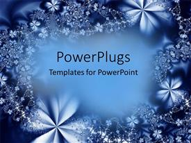 PowerPlugs: PowerPoint template with a collection various shapes resulting in depicting flower like structure