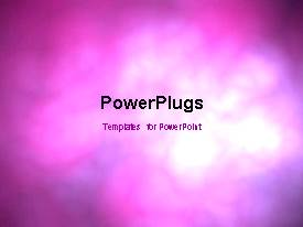 PowerPlugs: PowerPoint template with colorful clouds in motion, with different colors