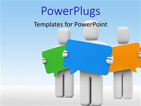 communication powerpoint templates | crystalgraphics, Modern powerpoint