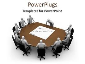 PowerPlugs: PowerPoint template with presentations conference meeting table teamwork planning strategy