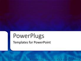 PowerPlugs: PowerPoint template with dark and light blue shaded financial background