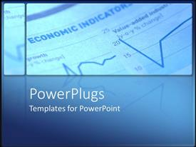 PowerPlugs: PowerPoint template with depiction of a graph paper with writings and drawings