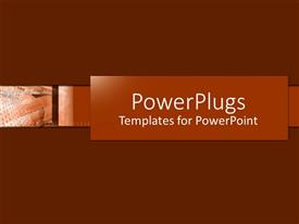 PowerPlugs: PowerPoint template with depiction of a plain green and white background board
