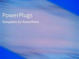 PowerPlugs: PowerPoint template with depiction of  a plain multi colored blurry  background block