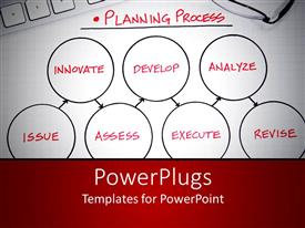 PowerPlugs: PowerPoint template with depiction of the planning procedures and the important factors invloved