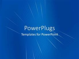 PowerPlugs: PowerPoint template with a digital background with place for text