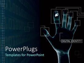 PowerPlugs: PowerPoint template with digital fingerprints