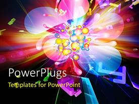 PowerPlugs: PowerPoint template with a lot of colors in background
