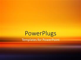 PowerPoint template displaying fantastic Powerful Abstract Stripe Background Design