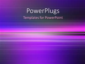 PowerPlugs: PowerPoint template with fantastic powerful abstract stripe background design