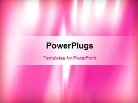PowerPlugs: PowerPoint template with a few seconds video of an abstract background