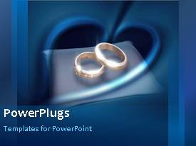PowerPlugs: PowerPoint template with a few seconds video of a colored abstract background