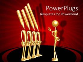PowerPlugs: PowerPoint template with a figure addressing a group of other figures