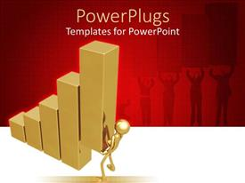 PowerPlugs: PowerPoint template with a figure making the financial table