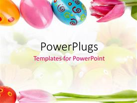 PowerPlugs: PowerPoint template with a number of easter eggs with colorful background