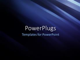 PowerPlugs: PowerPoint template with futuristic Technology Abstract Stripe
