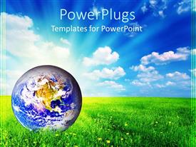 PowerPlugs: PowerPoint template with global warming