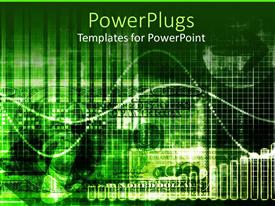 PowerPlugs: PowerPoint template with graphical depiction a dollar bill embedded in a green background