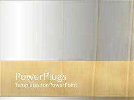 PowerPlugs: PowerPoint template with a grayish background with place for text at bottom