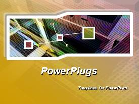 PowerPlugs: PowerPoint template with great choice for presentations on network, web services, communications, internet security, etc