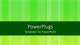 PowerPlugs: PowerPoint template with green abstract background with different stripes
