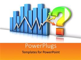 PowerPlugs: PowerPoint template with a growth table with a question mark