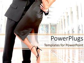 PowerPlugs: PowerPoint template with a guy dancing with a girl