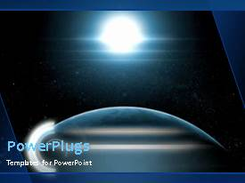 PowerPlugs: PowerPoint template with the impact of the moon over the global activities