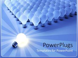 PowerPlugs: PowerPoint template with the importance of Light