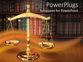 PowerPlugs: PowerPoint template with justice Strength