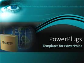 PowerPlugs: PowerPoint template with keep yourself secure on internet with best security