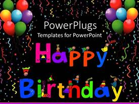 top happy birthday powerpoint templates, backgrounds, slides and, Powerpoint templates