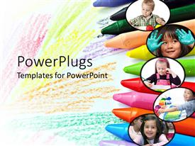 PowerPlugs: PowerPoint template with kids Creative abilities