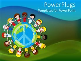 PowerPlugs: PowerPoint template with kids Without Discrimination