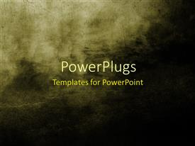 PowerPoint template displaying large grunge textures and backgrounds