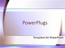 PowerPlugs: PowerPoint template with light purple abstract simple graphics