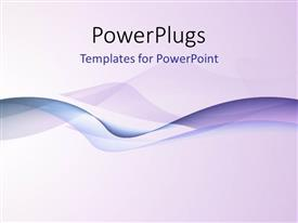 PowerPlugs: PowerPoint template with a lot of lines with purple background and place for text