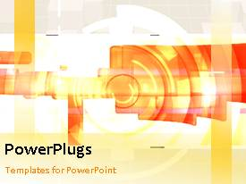 PowerPlugs: PowerPoint template with a lot of shapes in the background